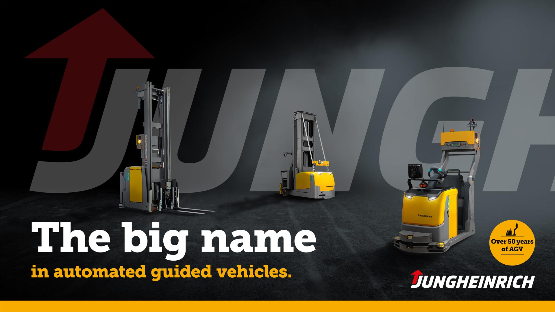 Jungheinrich campaign - The big name in automated guided vehicles