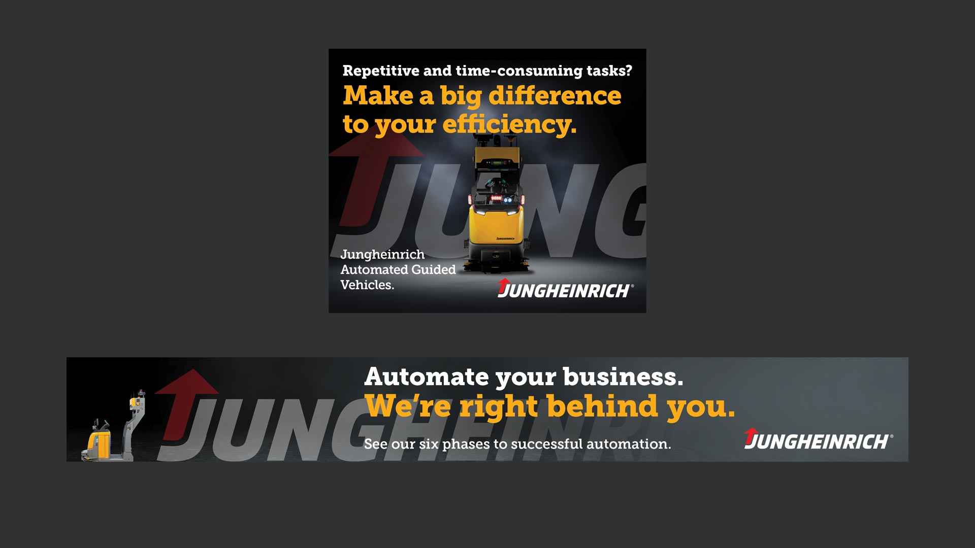 Jungheinrich campaign - we're right behind you