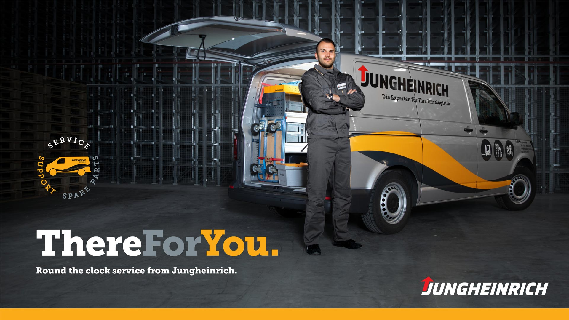 Jungheinrich campaign - There for you