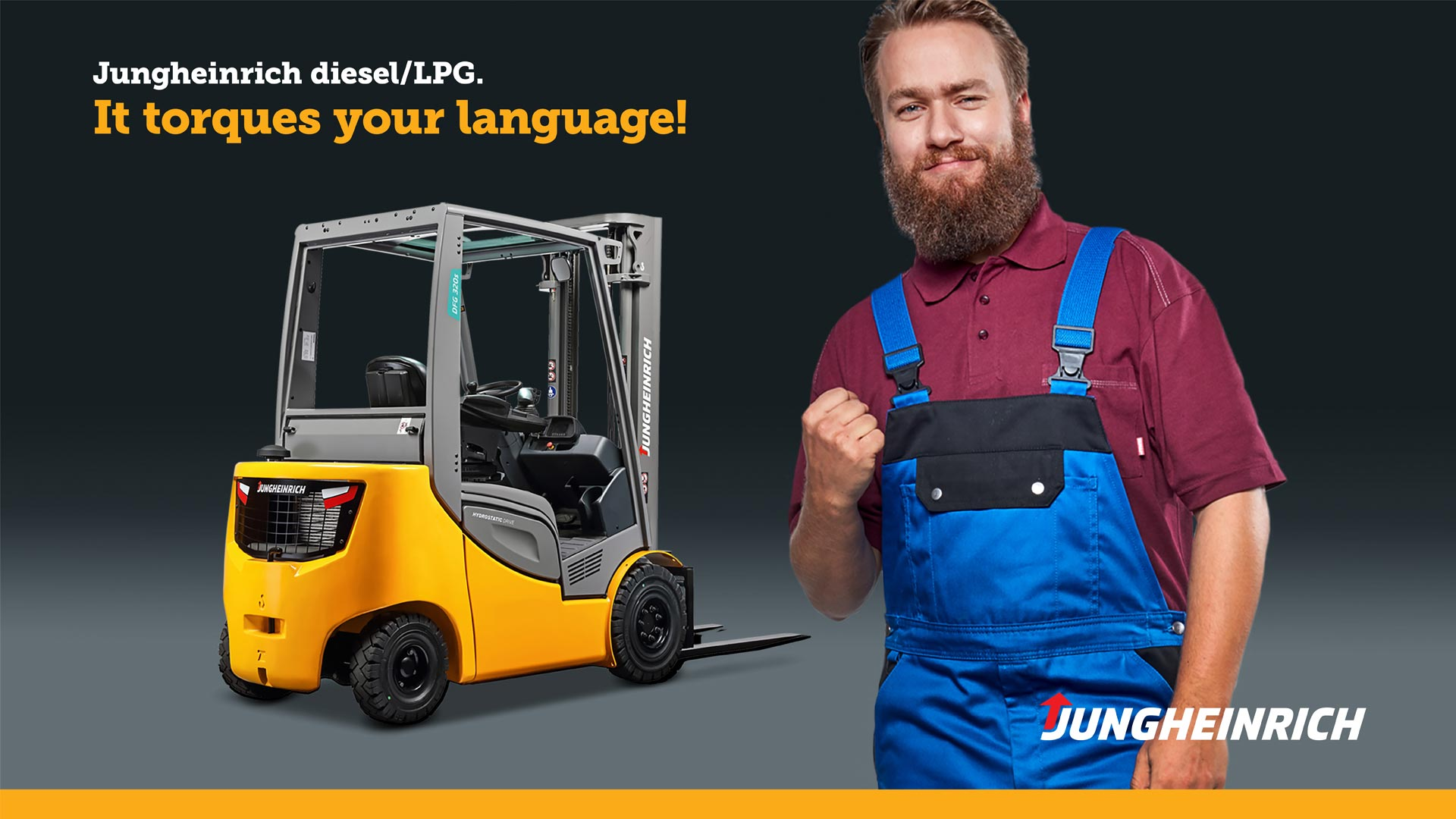 Jungheinrich campaign - torques your language