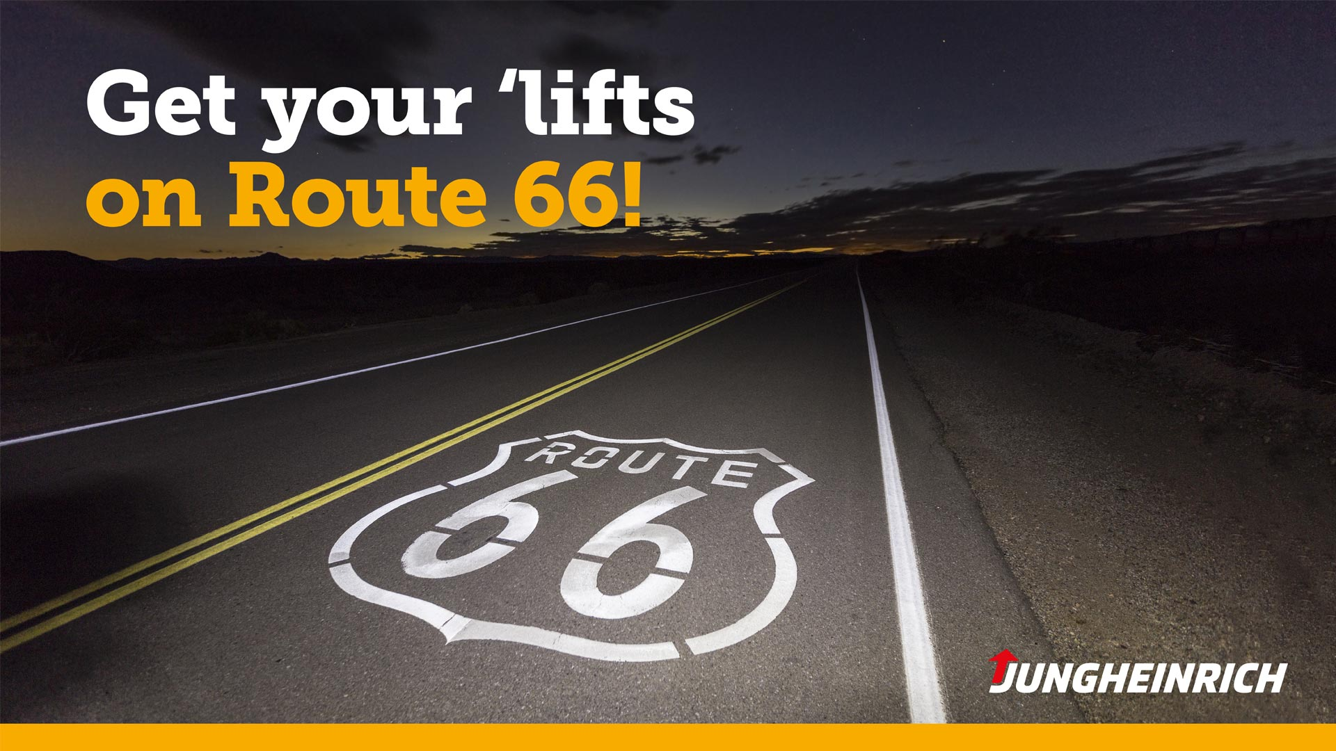 Jungheinrich campaign route 66