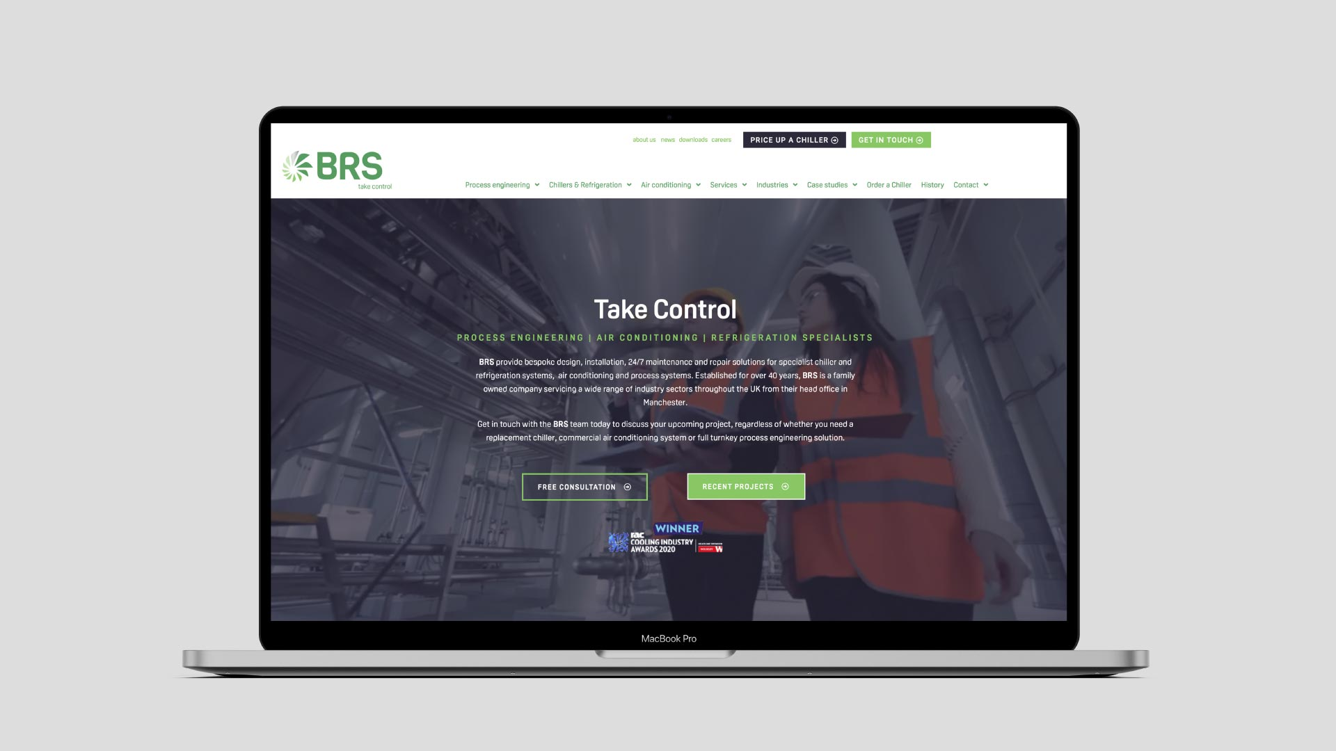 BRS website