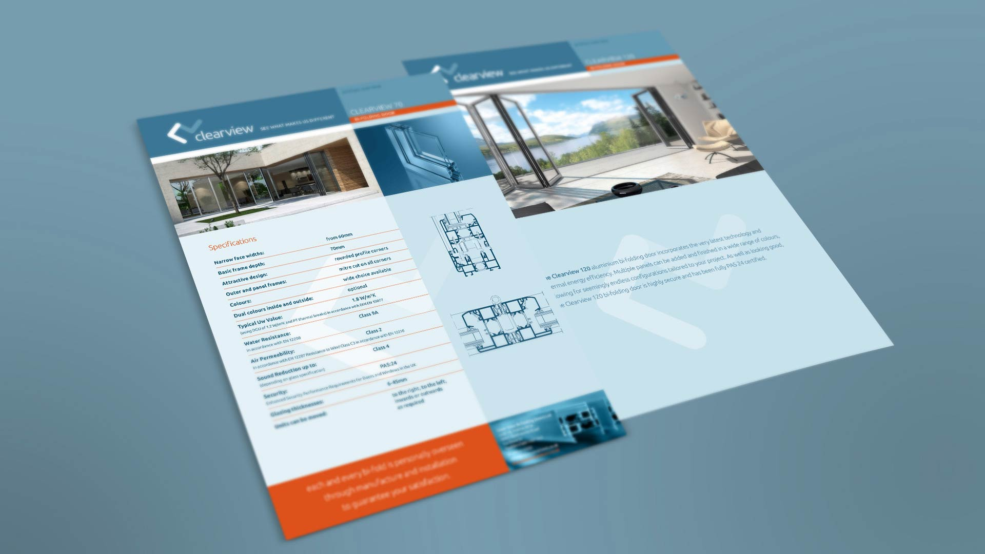 Clearview datasheets