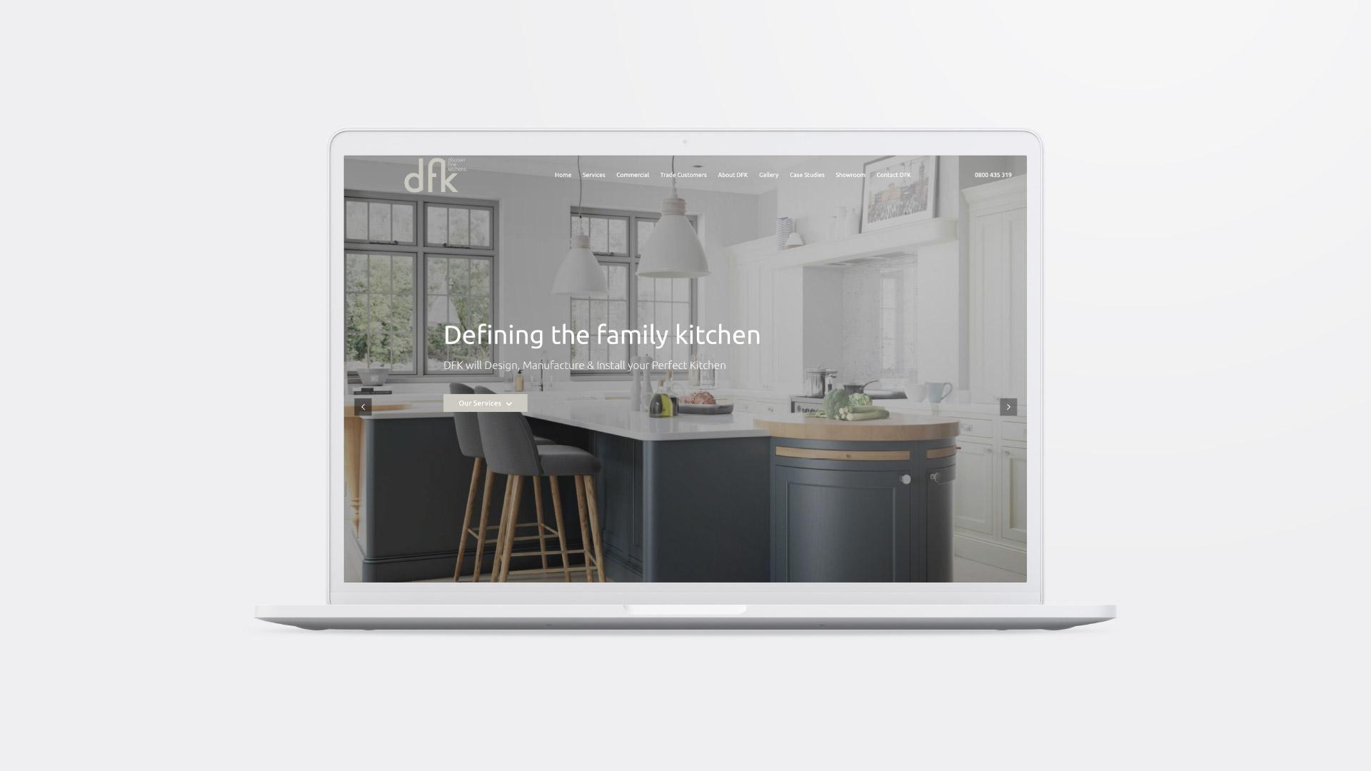 DFK website refresh