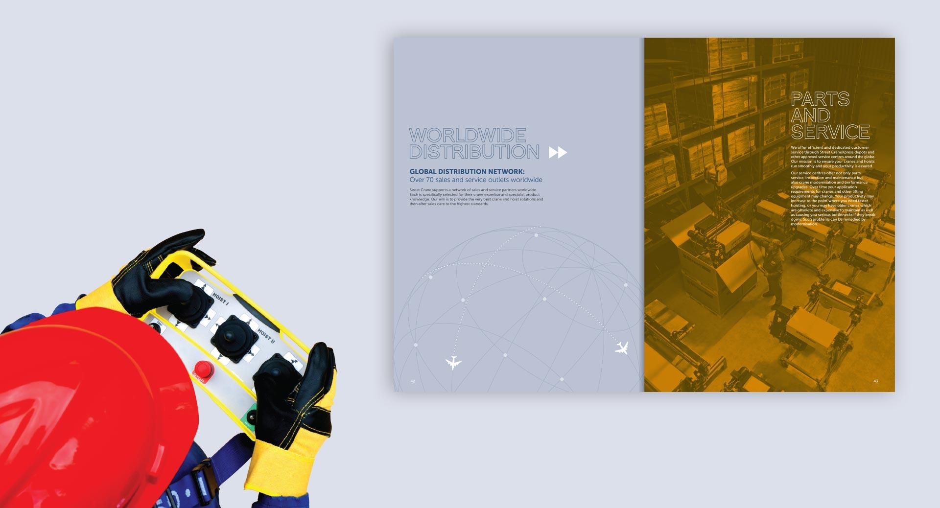 Street Crane product brochures
