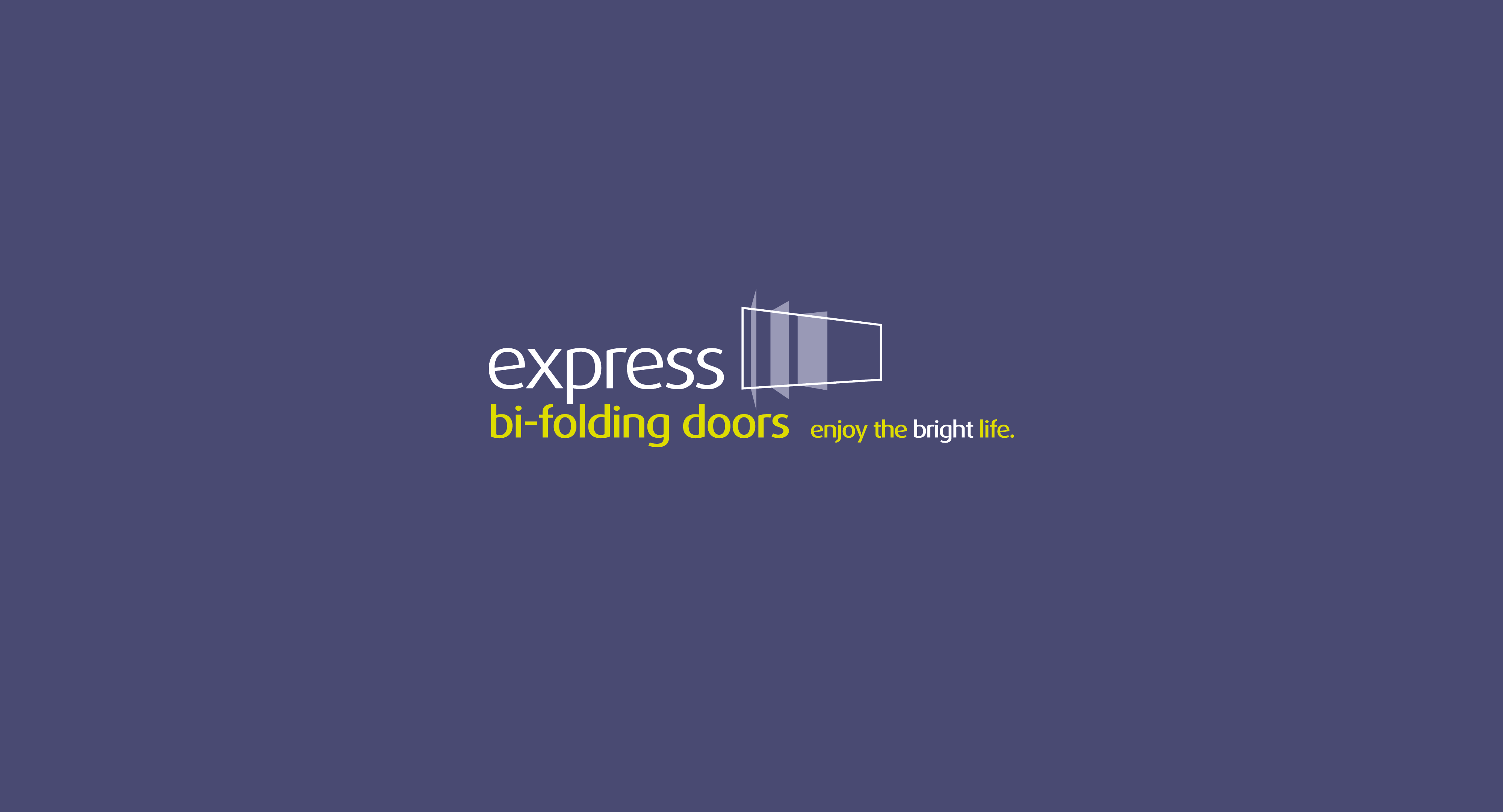 express bifolds branding
