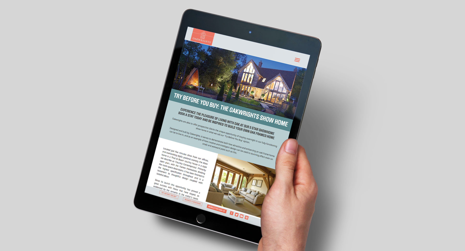 oakwrights website