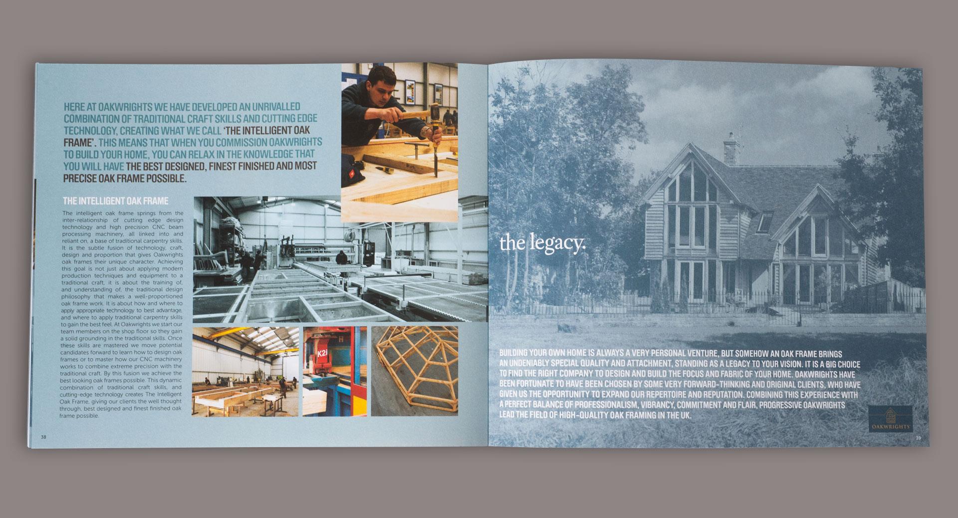 oakwrights brochures