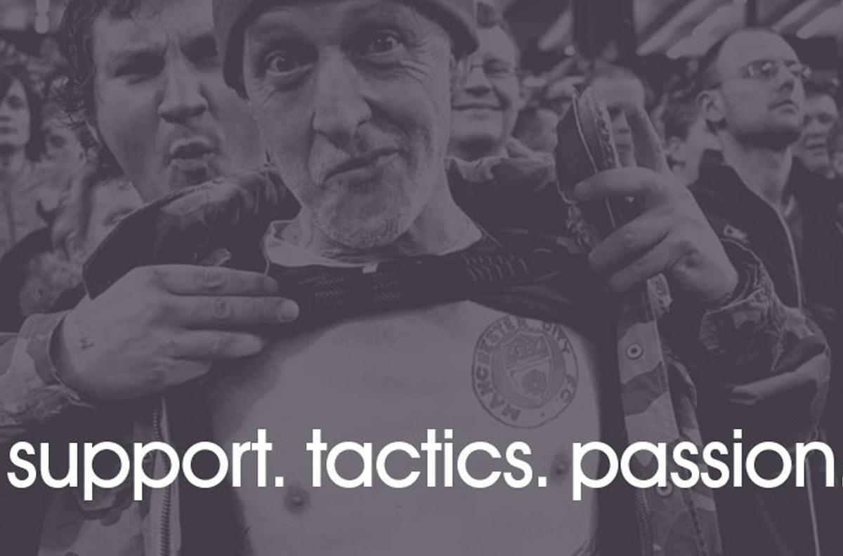 support, tactics, passion
