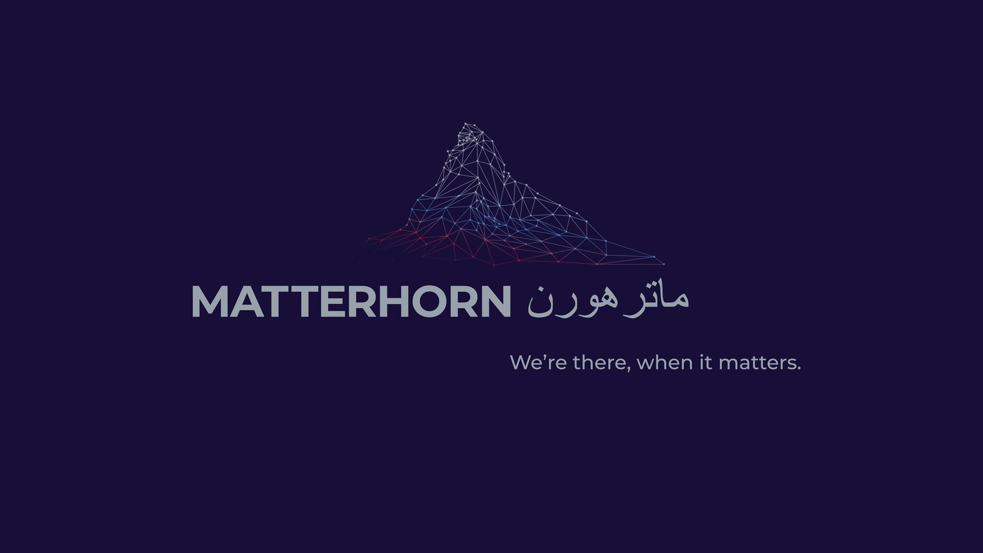 matterhorn - we're there when it matters
