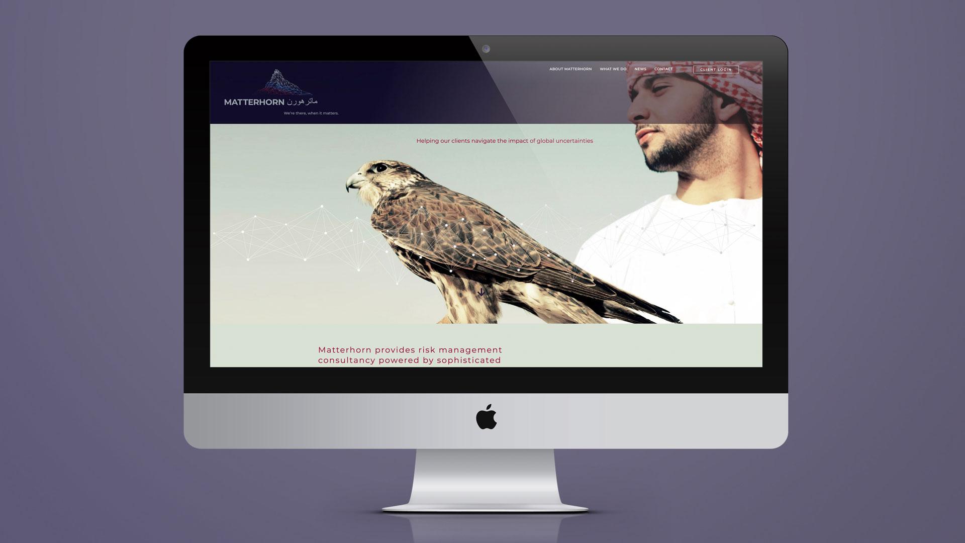 matterhorn branding and website