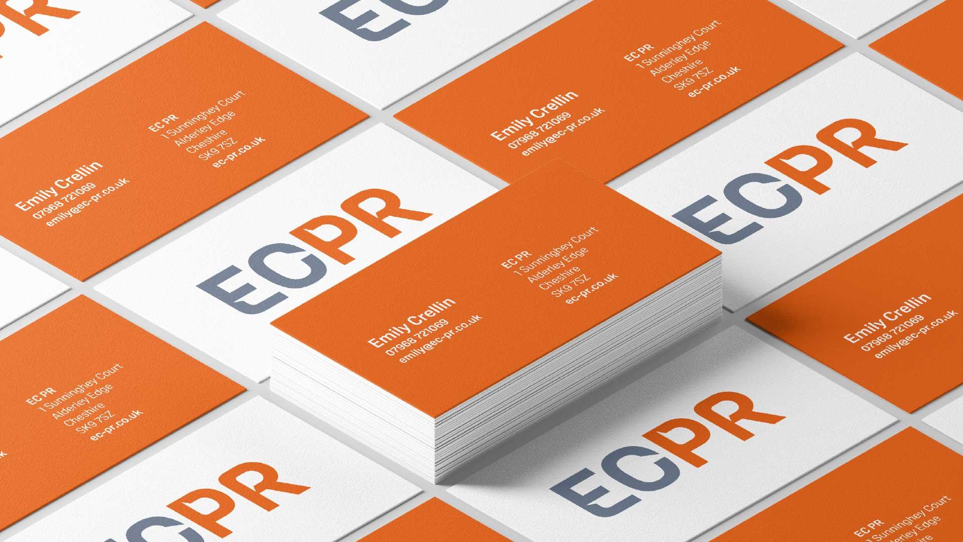 EC PR stationery