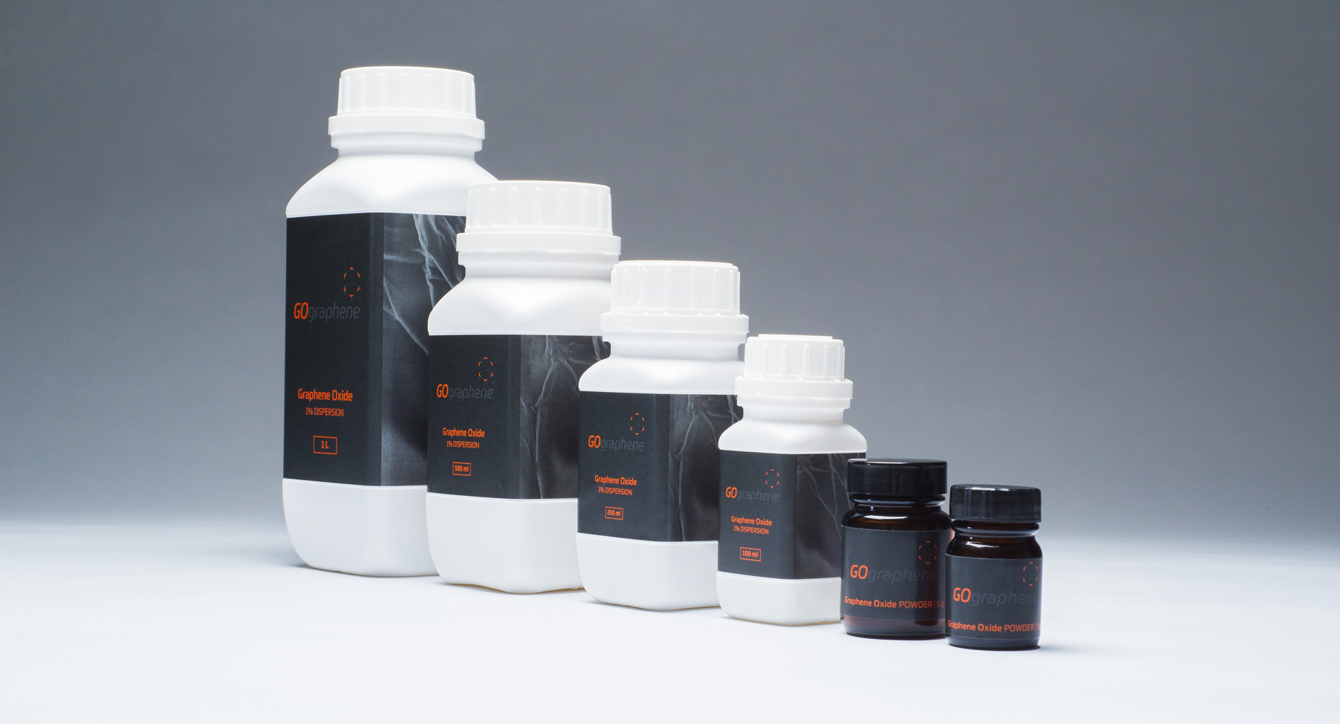 go graphene branding and product packaging
