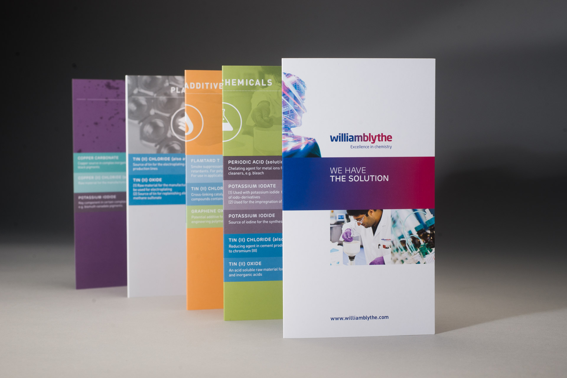 william blythe creative leaflet