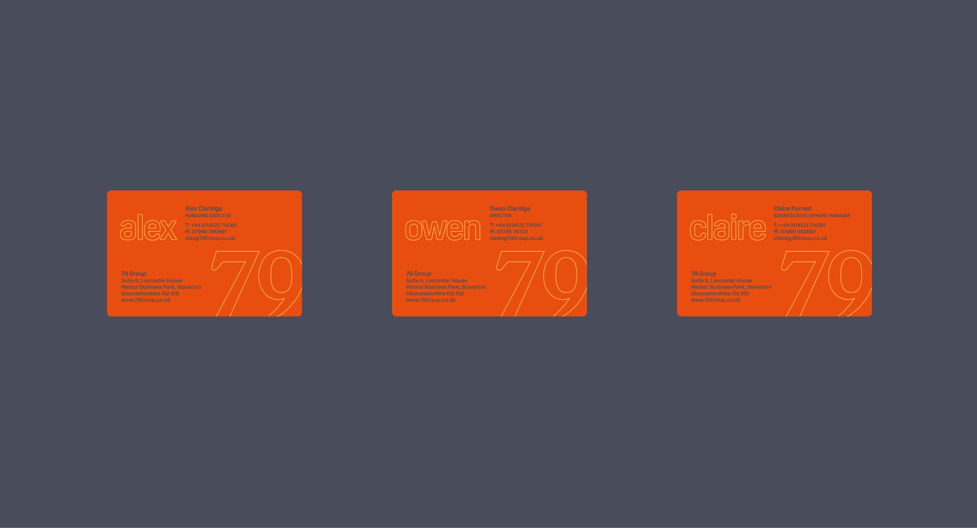 79 group business cards