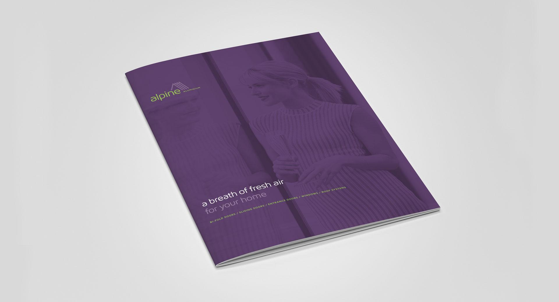 alpine aluminium brochure